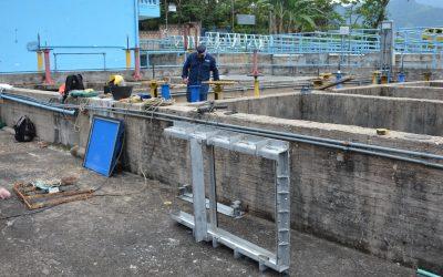 Concluyen trabajos programados en la planta de tratamiento de agua potable Caldas.