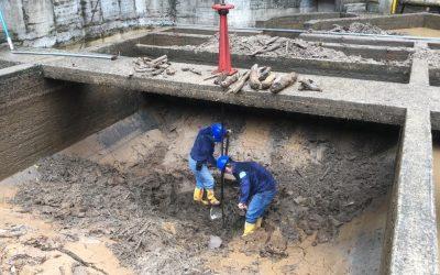 Continúan trabajos de mantenimiento en las instalaciones de la bocatoma Caraño