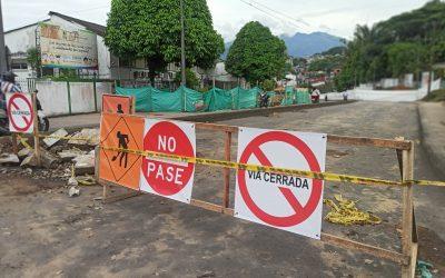 Reiniciaremos labores del colector en el Barrio El Porvenir